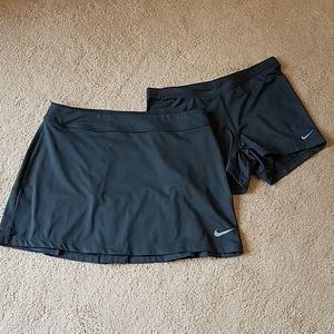 Nike golf skort